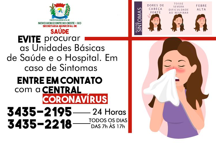 COMUNICADO DA SECRETARIA MUNICIPAL DE SAÚDE DE NOVO HORIZONTE