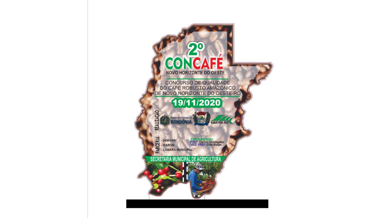 2º CONCAFÉ DE NOVO HORIZONTE DO OESTE 2020